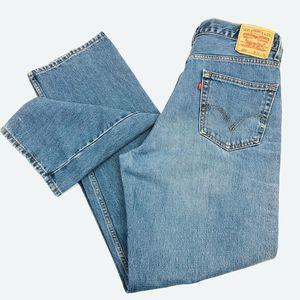 Levi's 550 Men's Size 36x35 Relaxed Fit Denim Jean